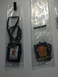 Breiviks valse politie-identificatie is te zien in het herdenkingcentrum